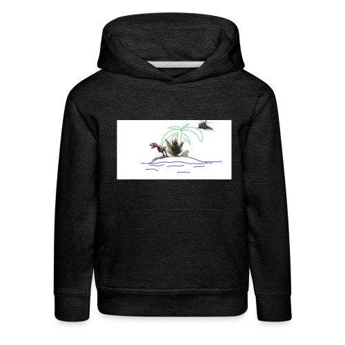 dino - Sudadera con capucha premium niño