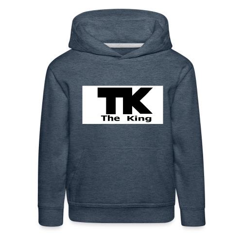 The King med ram - Premium-Luvtröja barn