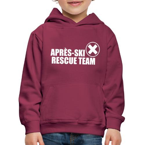 APRÈS SKI RESCUE TEAM 2 - Kinderen trui Premium met capuchon