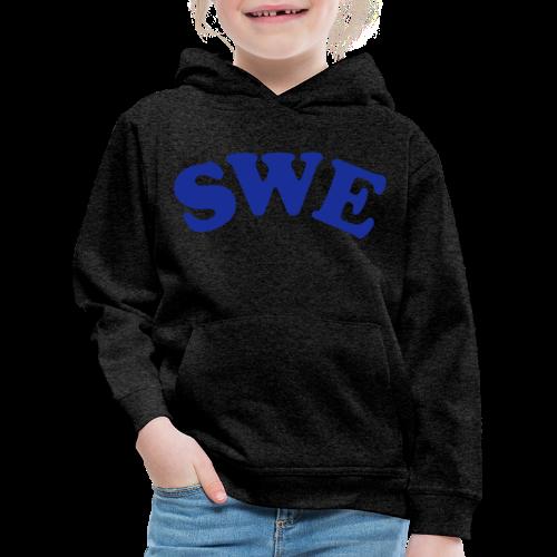 T-shirt, SWE - Premium-Luvtröja barn