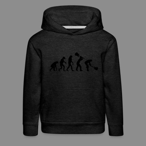 Evolution Rock - Sudadera con capucha premium niño