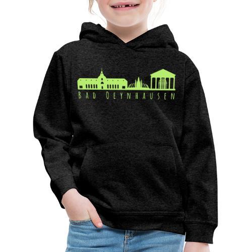 Silhouette der besten Kurstadt - Kinder Premium Hoodie