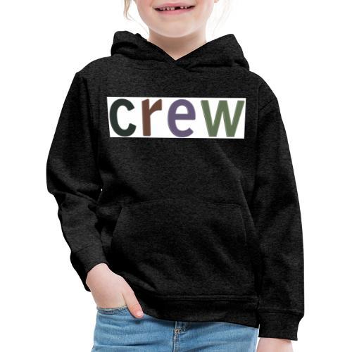 factor10crew - Kinderen trui Premium met capuchon