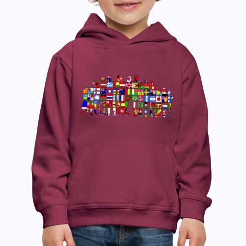 all the world - Kids' Premium Hoodie