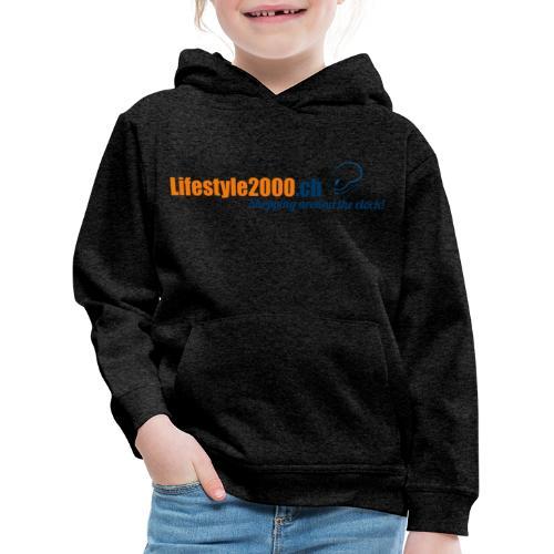 lifestyle 2000 Original Logo - Kinder Premium Hoodie