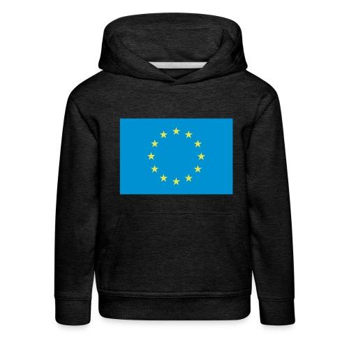 EU / European Union - Kinderen trui Premium met capuchon
