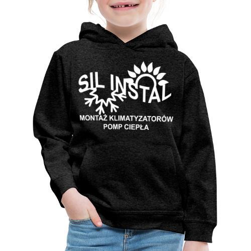 sil instal - Bluza dziecięca z kapturem Premium