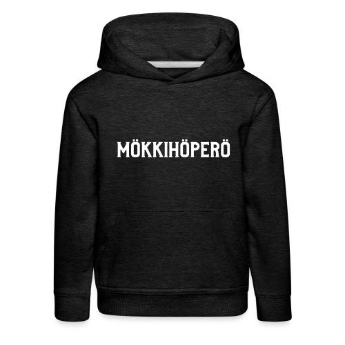 mokkihopero - Lasten premium huppari