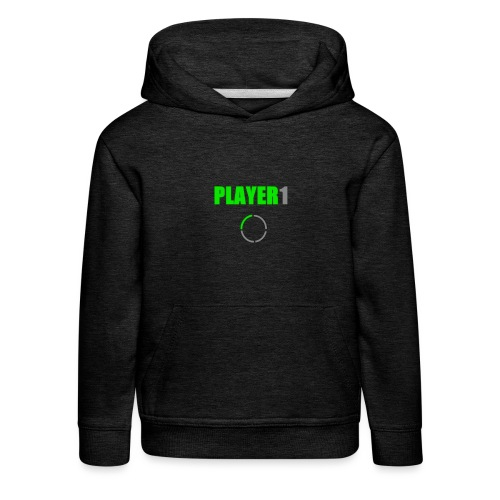 PLAYER 1 VideoJuegos - Sudadera con capucha premium niño