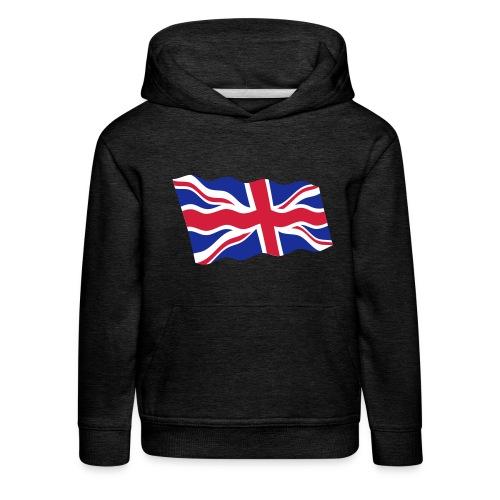 UK / United Kingdom - Kinderen trui Premium met capuchon