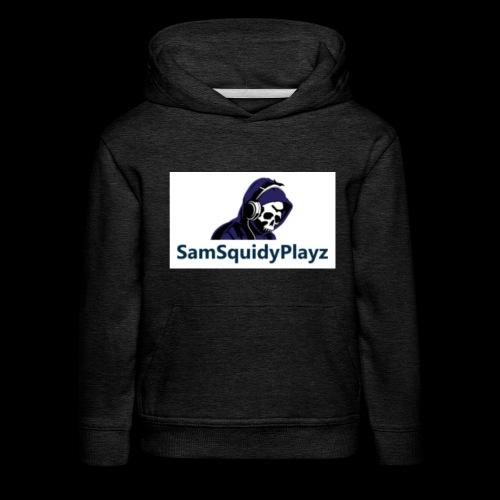 SamSquidyplayz skeleton - Kids' Premium Hoodie