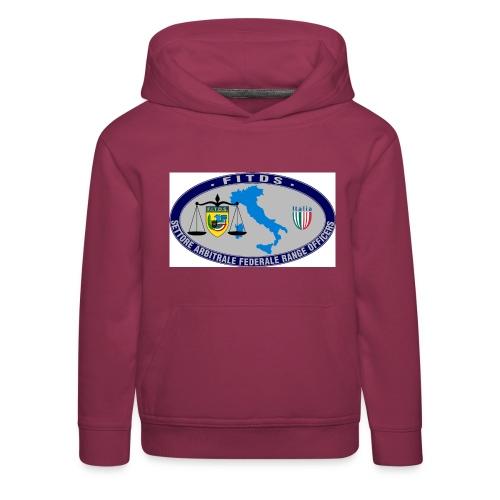 Logo SAFRO - Felpa con cappuccio Premium per bambini