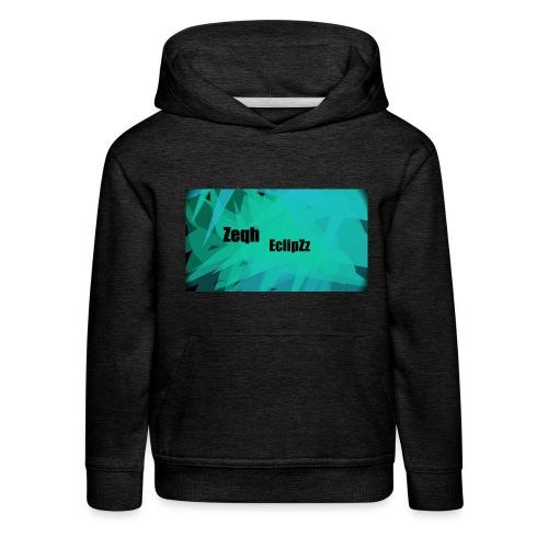 Zeqh EclipZz Youtube Name - Kids' Premium Hoodie