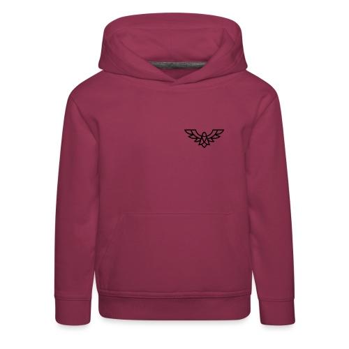 Clean Plain Logo - Kids' Premium Hoodie