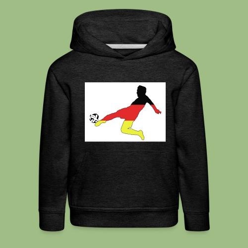 Mario Götze. Germany World Cup Winners - Premium-Luvtröja barn