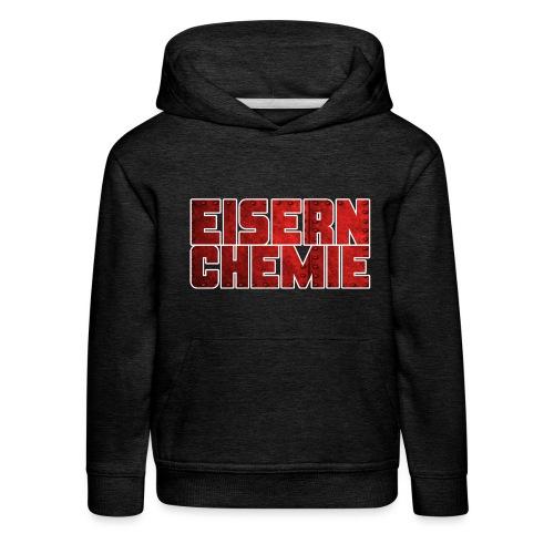 Eiserner Chemie Script Metalloptik - Kinder Premium Hoodie