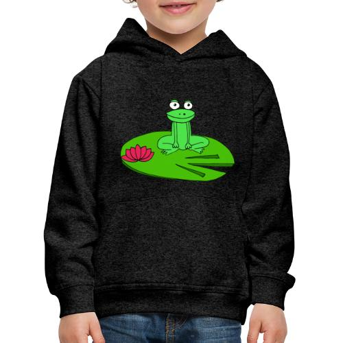 Molly la grenouille - Pull à capuche Premium Enfant