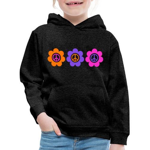 Power Flowers Of Peace Trilogy 1 - Kinder Premium Hoodie