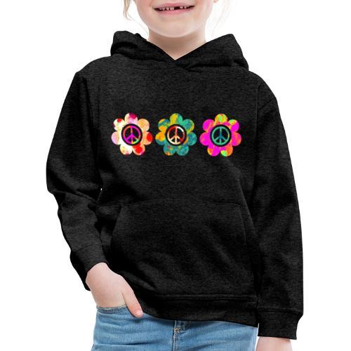 Power Flowers Of Peace Trilogy 3 - Kinder Premium Hoodie