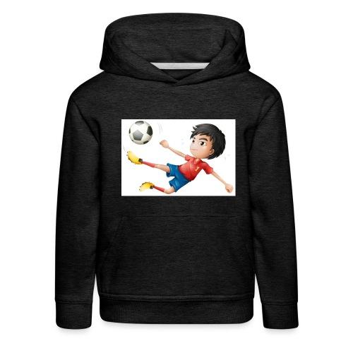 Freestyle Kid Cartoon - Kids' Premium Hoodie