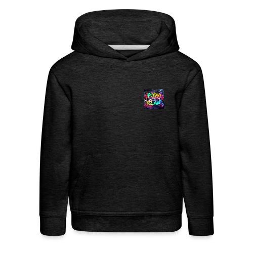 Plepp Logo - Kinder Premium Hoodie