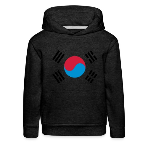 South Korea - Kinderen trui Premium met capuchon