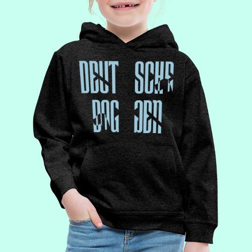 Jackenmotiv Doggenschrif - Kinder Premium Hoodie