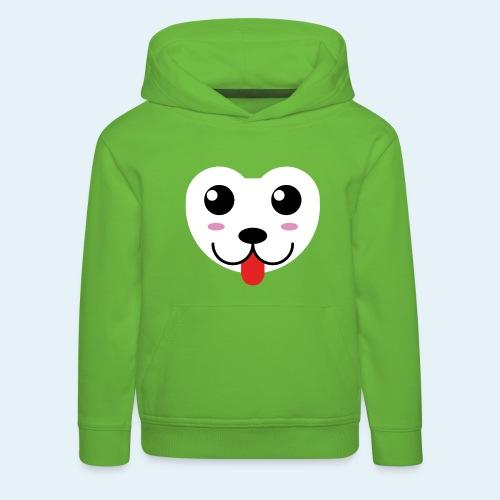 Husky perro bebé (baby husky dog) - Sudadera con capucha premium niño