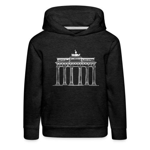 Brandenburger Tor Berlin Victoria Streitwagen - Kinder Premium Hoodie