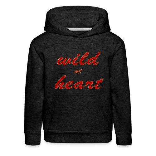 wild at heart - Kinder Premium Hoodie