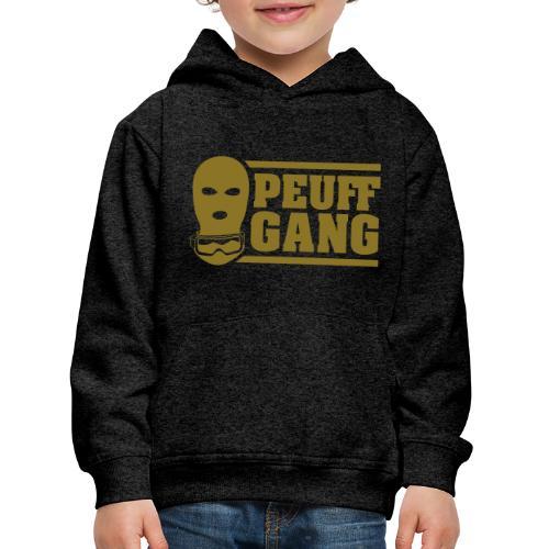 Peuff Gang Gold - Pull à capuche Premium Enfant