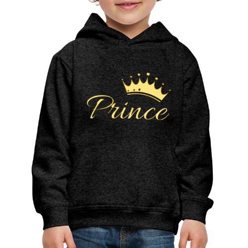 Prince Or -by- T-shirt chic et choc - Pull à capuche Premium Enfant