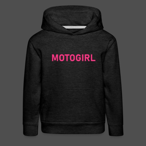 motogirl 8GL02 - Kinder Premium Hoodie