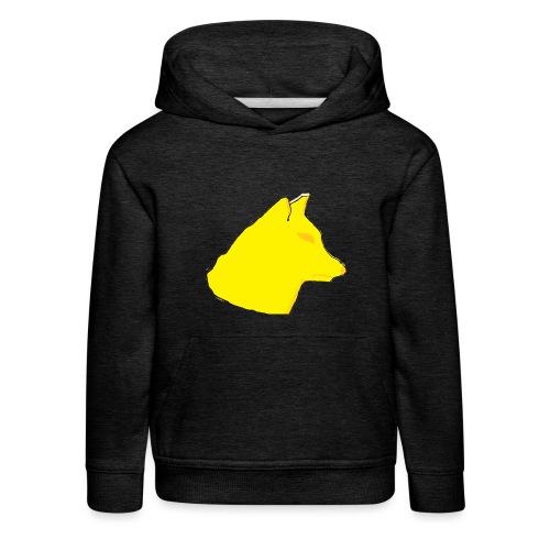 wolfes - Premium hættetrøje til børn