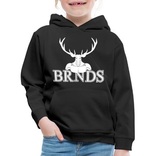 BRNDS - Felpa con cappuccio Premium per bambini