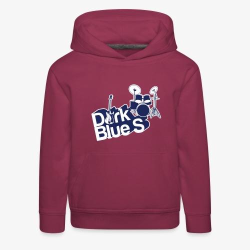 DarkBlueS outline gif - Kids' Premium Hoodie
