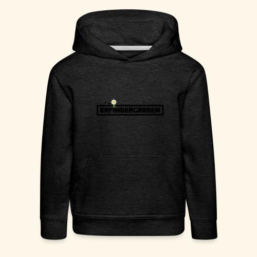 erfindergarden logo - Kinder Premium Hoodie