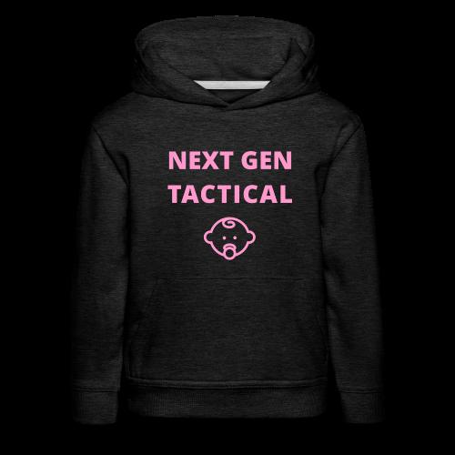 Tactical Baby Girl - Kinderen trui Premium met capuchon