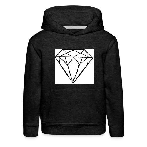 Diamond - Premium-Luvtröja barn