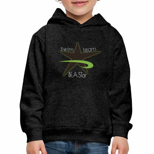 BeAStar BeAStar noStar grey green dark - Kinder Premium Hoodie