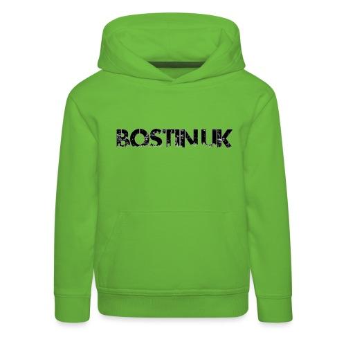 Bostin uk white - Kids' Premium Hoodie