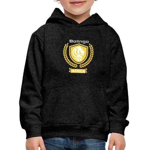 bolingo jaune - Pull à capuche Premium Enfant