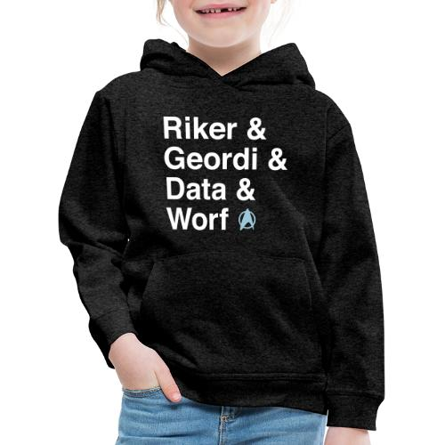 TNG Crew T Shirt - Kinder Premium Hoodie