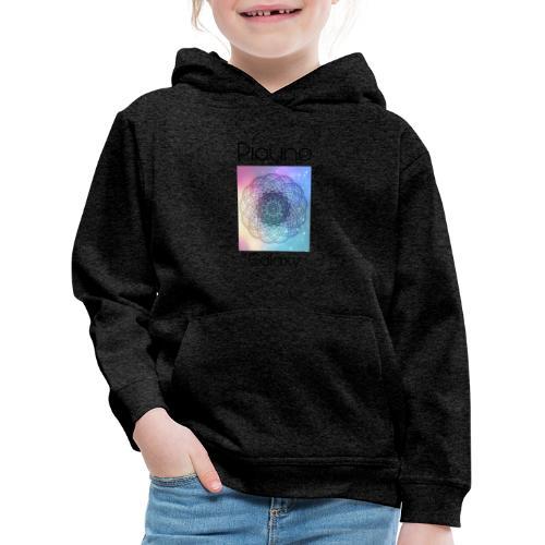 Piouno Galaxy Mandala - Kinder Premium Hoodie