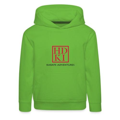 Karate Adventures HDKI - Kids' Premium Hoodie