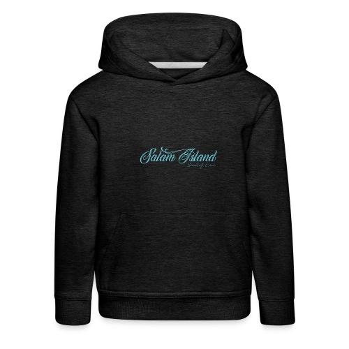 Salam Island calli bleu - Pull à capuche Premium Enfant