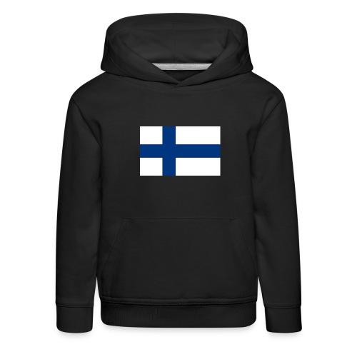 800pxflag of finlandsvg - Lasten premium huppari