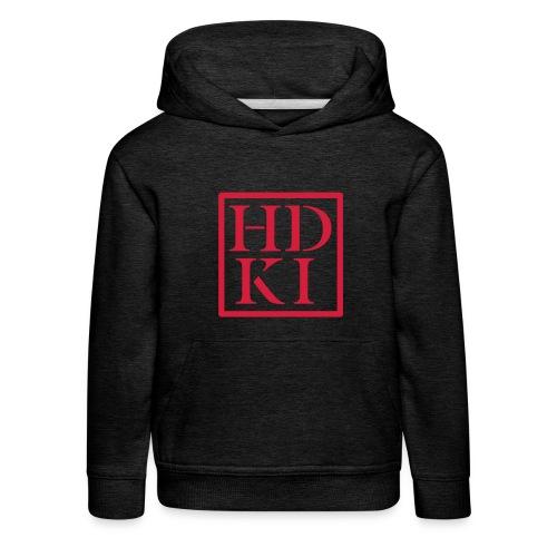 HDKI logo - Kids' Premium Hoodie