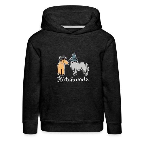Hütehunde Hunde mit Hut Huetehund - Kinder Premium Hoodie