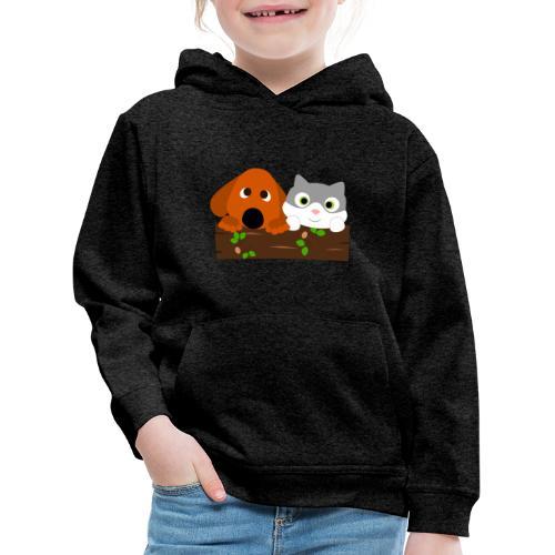 Hund & Katz - Kinder Premium Hoodie
